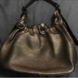 Burberry Bags - Women's Leather Burberry Hobo/Warrior Tote Bag
